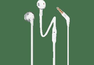 JBL T205 Mikrofonlu Kulak İçi Kulaklık Krom