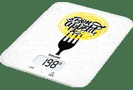 BEURER 704.18 KS Bon Appetit Küchenwaage (Max. Tragkraft: 5 kg
