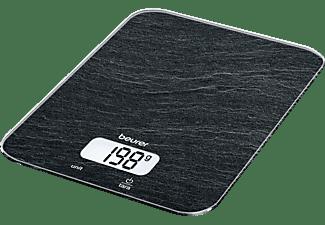 BEURER 704.16 KS 19 Slate Küchenwaage (Max. Tragkraft: 5 kg