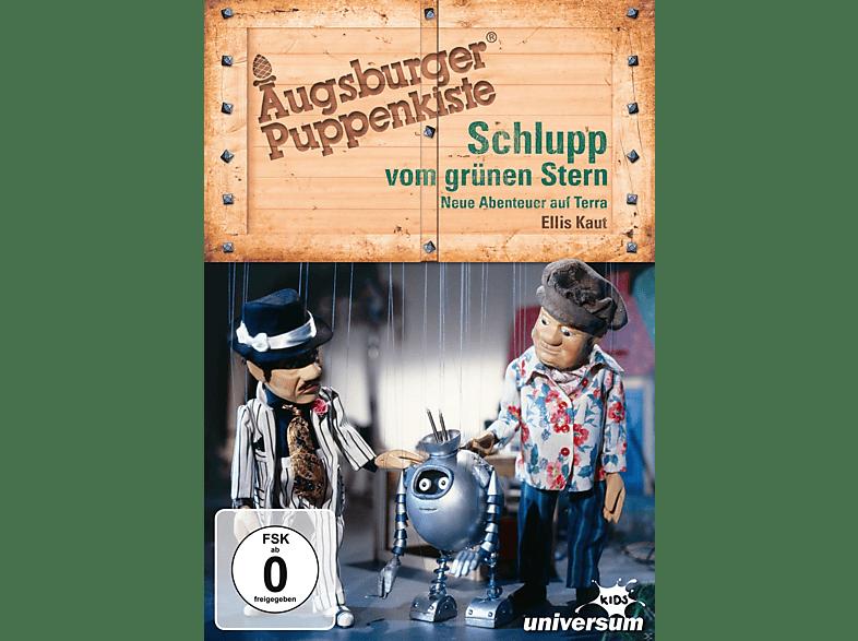 Augsburger Puppenkiste - Schlupp vom grünen Stern: Neue Abenteuer auf Terra [DVD]