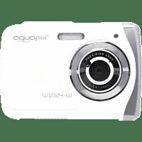 EASYPIX W1024 Splash  Digitalkamera Weiß, 16 Megapixel, 1x opt. Zoom, TFT