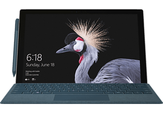 MICROSOFT Surface Pro, Convertible mit 12,3 Zoll Display, Core™ i7 Prozessor, 8 GB RAM, 256 GB SSD, Intel® Iris™ Plus-Grafik 640, Silber