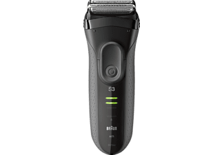 BRAUN Series 3 ProSkin 3050cc + CCR2 Rasierer Schwarz (MicroComb Technologie)