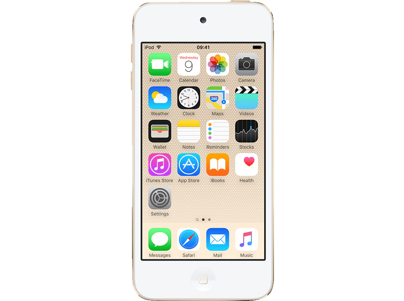 APPLE MKWM2FD/A iPod touch (128 GB, Gold)