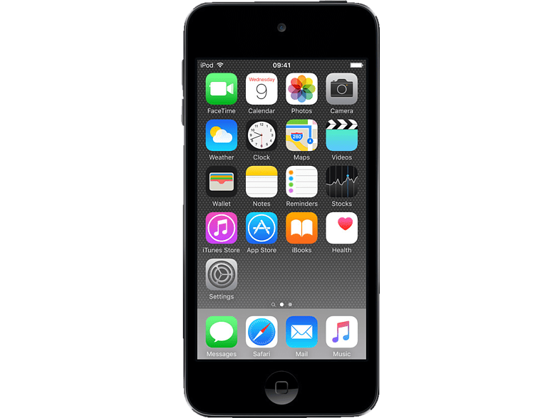 APPLE MKWU2FD/A iPod touch (128 GB, Space Grau)