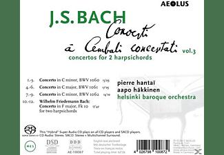Pierre Hantai, Aapo Häkkinen, Helsinki Baroque Orchestra - Cembalokonzerte Vol.3  - (SACD Hybrid)
