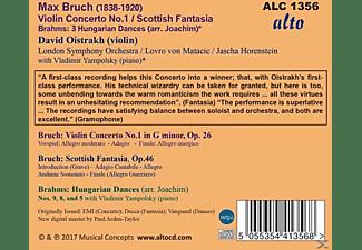 David Oistrakh, Vladimir Yampolsky, London Symphony Orchestra - Violinkonzert 1/Scottish Fantasia op.46/+  - (CD)