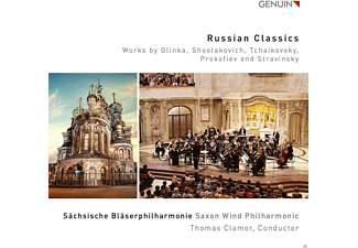 Sächsische Bläserphilharmonie - Russian Classics  - (CD)