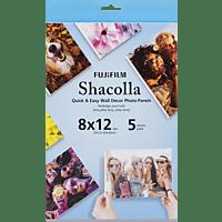 FUJIFILM Shacolla Box, Fotopanel, Weiß, passend für Instax Bilder oder andere Photos