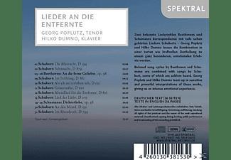 Georg Poplutz, Hilko Dumno - Lieder an die Entfernte  - (CD)