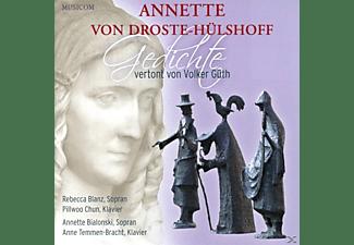 Annette Von Droste Hülshoff Volker Güth Rebecca Blanz Pillwoo Chun Annette Bialonski Anne Temmen Bracht Gedichte Cd