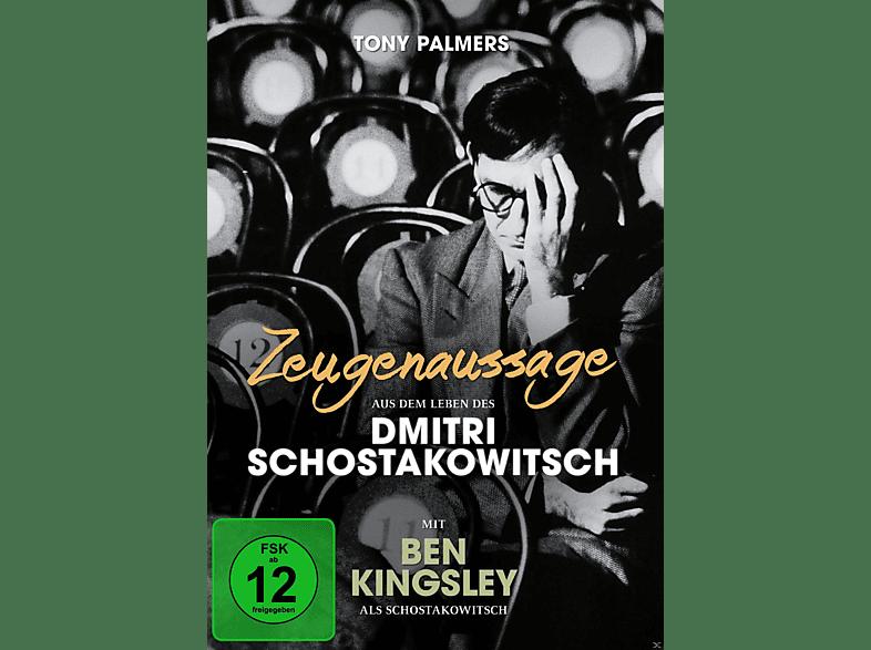 Zeugenaussage – Aus dem Leben des Dimitri Schostakowitsch [DVD]
