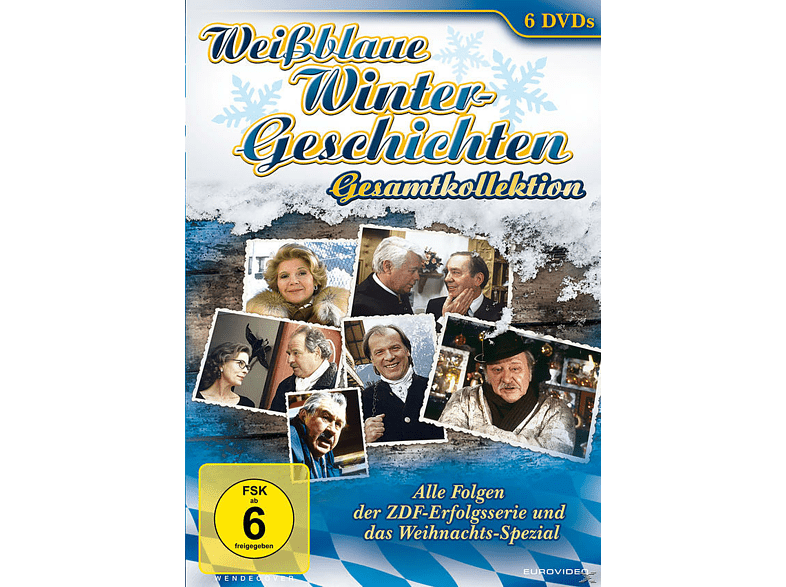 Weißblaue Wintergeschichten - Gesamtkollektion [DVD]