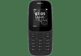 NOKIA 105 (2017) Dual-SIM, schwarz