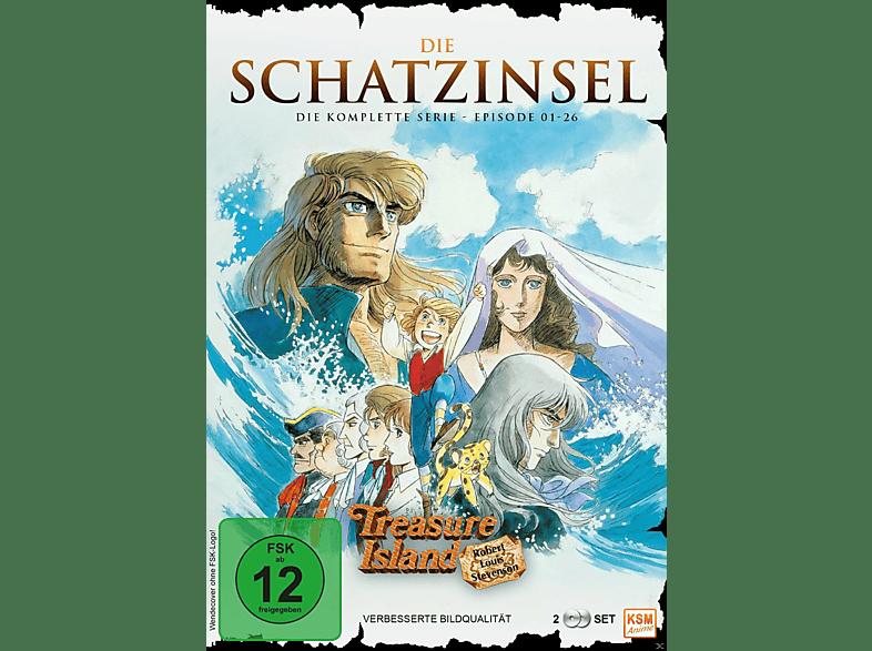 Die Schatzinsel - Complete Edition [DVD]