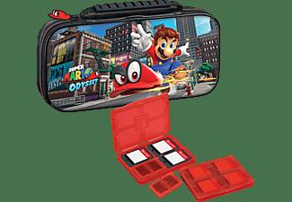 Bolsa - Ardistel PACK SUPER MARIO ODYSSEY, Para Nintendo Switch, Iinterior acolchado, 2 fundas juegos