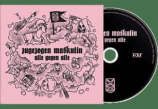 Zugezogen Maskulin - Alle gegen Alle  - (CD)