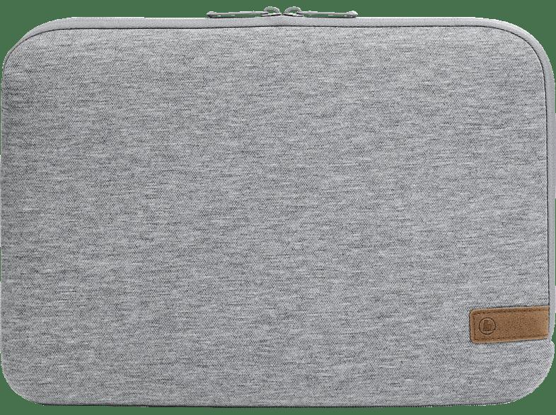 HAMA Jersey Notebookhülle, Sleeve, 15.6 Zoll, Hellgrau