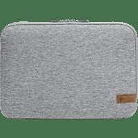 HAMA Jersey Notebooktasche, Sleeve, 15.6 Zoll, Hellgrau