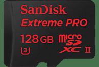 SANDISK Extreme PRO®, Micro-SDXC, Micro-SD microSDXC Speicherkarte, 128 GB, 275 MB/s