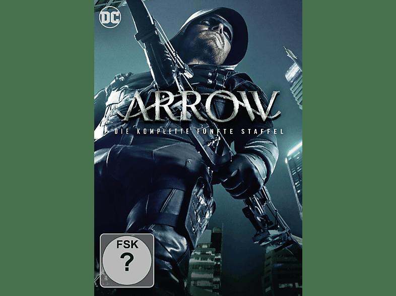 Arrow: Die komplette 5. Staffel (5 Discs) [DVD]