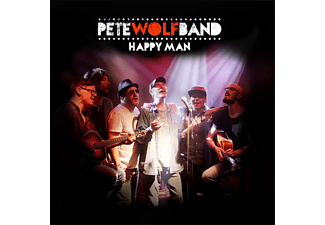 Pete Wolf Band - Happy Man  - (CD)