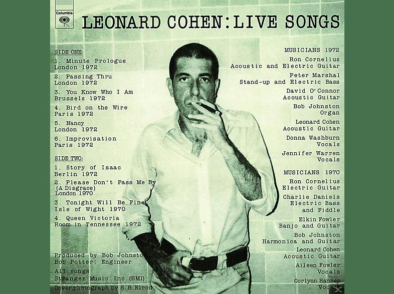 Leonard Cohen - Leonard Cohen: Live Songs [Vinyl]