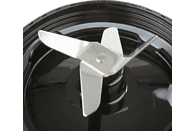 KORONA 24200 Smoothie Maker Schwarz (300 Watt, 2 x 0.75 l)