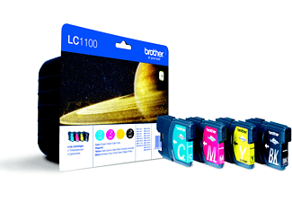BROTHER LC1100 Value Pack - Cartuccia di inchiostro (multicolore)