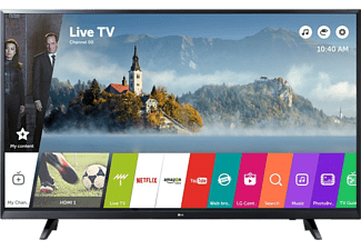 LG ELECTRONICS Fernseher 43UJ620V Ultra HD 4K Smart LED TV