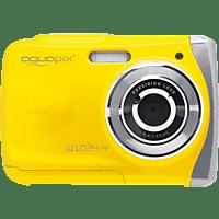 EASYPIX W1024 Splash  Digitalkamera Gelb, 16 Megapixel, 1x opt. Zoom, TFT