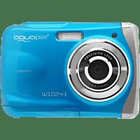 EASYPIX W1024 Splash  Digitalkamera Blau, 16 Megapixel, 1x opt. Zoom, TFT