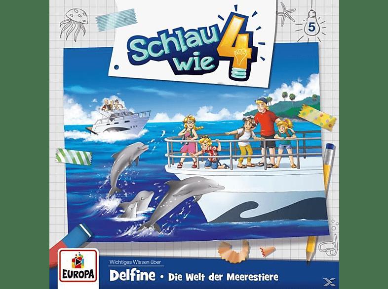 Schlau Wie Vier - 005/Delfine.Die Welt der Meerestiere - (CD)