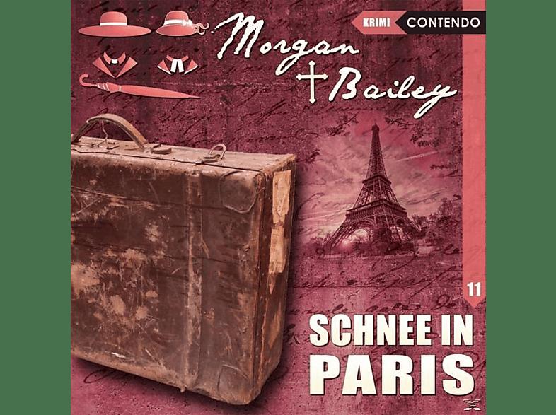 Tennstedt,Joachim/Möckel,Ulrike/Brügger,Katja - Morgan & Bailey 11: Schnee In Paris - (CD)