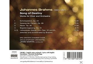 J./Eric Ericson Chamber Choir/Gävle SO Martin - Songs of Destiny  - (CD)
