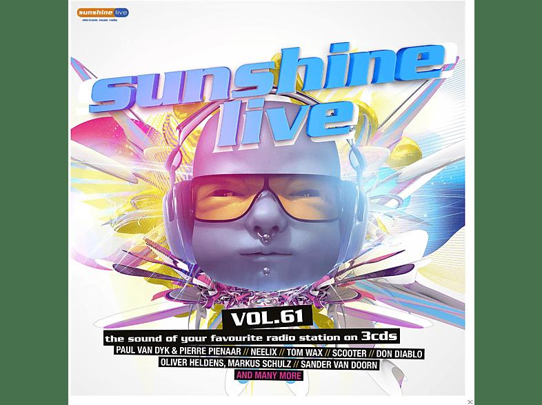 VARIOUS - Sunshine Live 61 [CD]