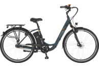 PROPHETE GENIESSER e8.6 Citybike (26 Zoll, 46 cm, Damen, 374 Wh, Dunkelgrün matt, Federgabel schwarz)