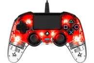 NACON NA360837 Color Light Edition Controller} Rot