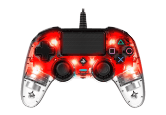 NACON Wired Compact Controller Light Edition, Rot