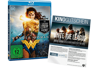 Wonder Woman + Justice League Kinoticket (Exklusiv) Blu-ray