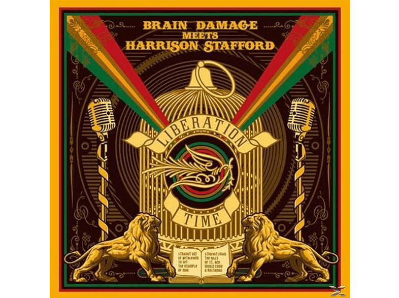 Brain Damage Meets Harrison Stafford - Liberation Time [Vinyl]