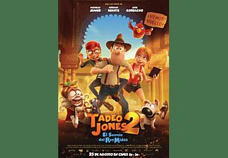 Tadeo Jones 2: El secreto del Rey Midas - Blu-Ray