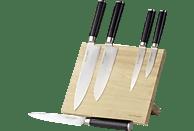 ECHTWERK EW-DM-0322-1 Damaszener Messer-Set 5-tlg.+ Magnet-Block