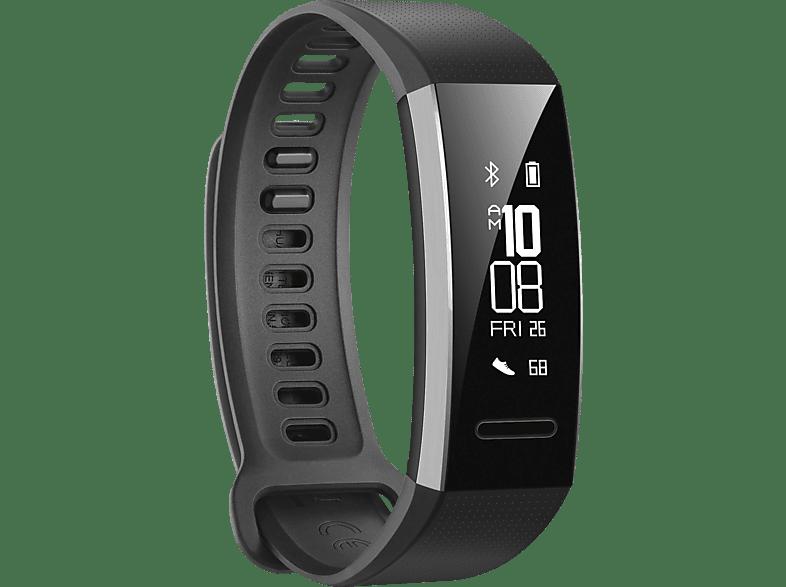 HUAWEI Band 2 Pro, Fitnesstracker, 114.67 mm + 101.35 mm, Schwarz