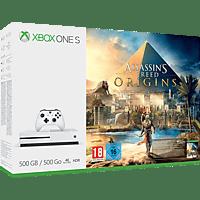 MICROSOFT Xbox One S 500GB Konsole - Assassins's Creed Origins Bundle