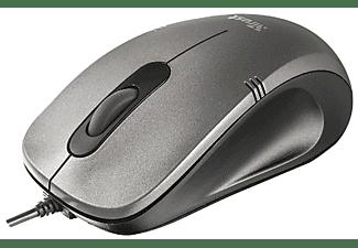 TRUST 20404 Ivero Compact Mouse Maus, Schwarz/Grau