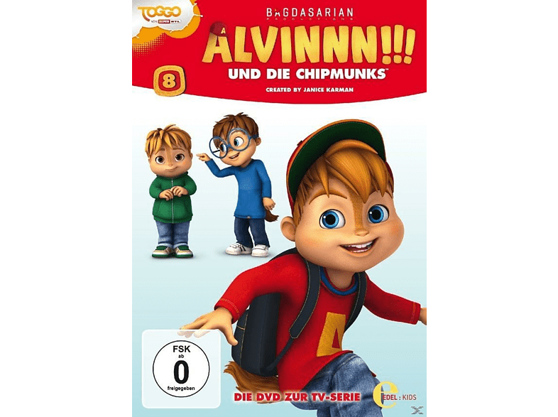 Alvinnn!!! Und Die Chipmunks 08 - Superhelden [DVD]