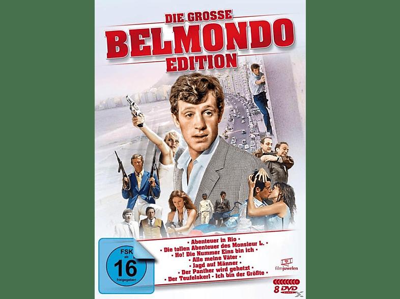 Die große Belmondo-Edition [DVD]