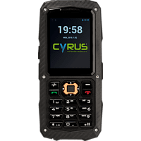 CYRUS CM8 Schwarz, Outdoor Handy
