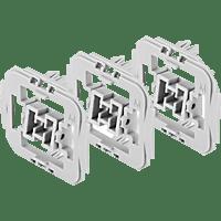 BOSCH 8750000418 Adapter 3er-Set Merten (M), Weiß